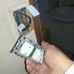 電気のスイッチ修理と一部交換