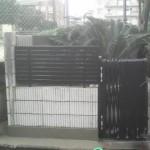 ブロック塀、フェンス完工!