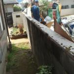 北九州市小倉北区で便利屋の仕事で廃材処理でした。
