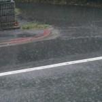今日も小倉北区は梅雨の雨でした