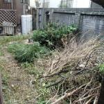 小倉北区にて白蟻消毒と廃材処理をさせて頂きました。