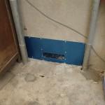 床下換気扇と床下カビ処理を北九州市門司区にて