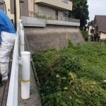 ハチ駆除を北九州市小倉北区で、ハチの巣の調査を若松区で、庭木の剪定を同じく小倉北区で