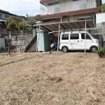 京都郡苅田町と北九州市門司区で、草刈の残工でした