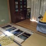 白蟻消毒の施工後点検を北九州市小倉北区と門司区にて