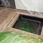白蟻駆除消毒を北九州市小倉北区にて施工しました