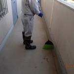 北九州市小倉北区でマンションの定期清掃・管理を行いました