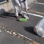 小倉北区にてマンションの掃除