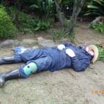 昨日の続きで小倉北区にて草むしり3日目。きつかった~