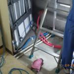 北九州市八幡西区のマンションの一室にてシロアリ消毒