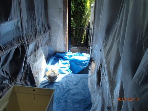 シロアリの予防消毒を福岡県小郡市にて