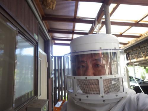 ハチ用防護服