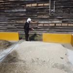 福岡市東区にて新築シロアリ建前予防消毒