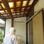 スズメバチの巣が三つ出来ていた北九州市八幡西区のお客様宅
