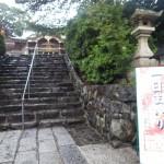 到津八幡神社へ平成27年9月の朔日詣り