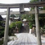 到津八幡神社へ月半ばの15日詣り