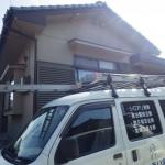 下関市で【シロアリに似た虫】白アリ駆除工事と床下換気扇設置工事