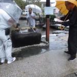 平成27年10月朔日詣りは雨