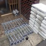 白蟻消毒と床の補強