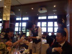 社員の結婚披露宴
